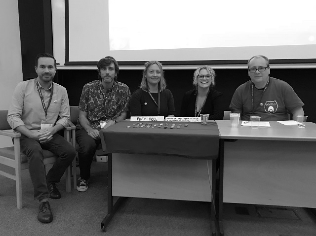 Dr Innes M. Keighren, Dr Andrew Harris, Dr Joanne Norcup, Dr Isla Forsyth, and Mr Adam Tandy.